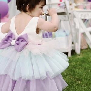 Party baby dress cute for pageant !!